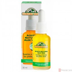 Aceite Natural Aloe Vera · Corpore Sano · 30 ml