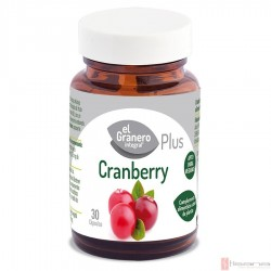 Cranberry Plus · El Granero Integral · 30 Capsulas