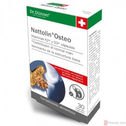 Nattolin Osteo · Dr. Dunner · 30 Capsulas