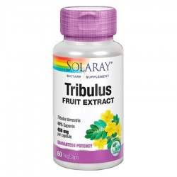 Tribulus 450 mg · Solaray · 60 Capsulas
