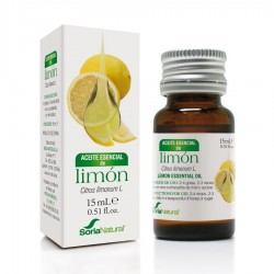 Aceite Esencial de Limon · Soria Natural · 15 ml