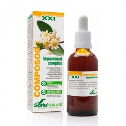 Composor 03 Hepavesical Complex XXI · Soria Natural · 50 ml