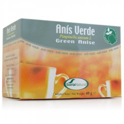 Anis Verde Infusion · Soria Natural · 20 Filtros