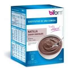 Biform Natillas de Chocolate · Dietisa · 6 Sobres