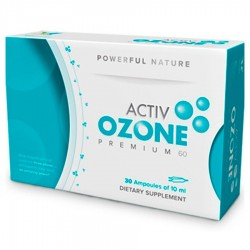 Activ Ozone Premium 60 · Keybiological · 30 Ampollas
