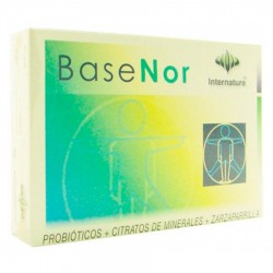 Basenor · Internature · 60 Capsulas
