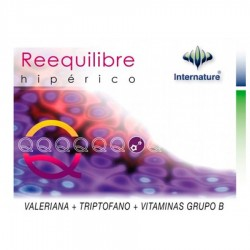 Reequilibre · Internature · 60 Capsulas