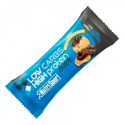 Barrita Low Carbs Choco-Galleta · Nutrisport · 60 Gramos