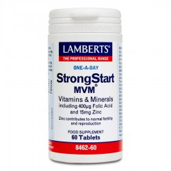 StrongStart MVM® · Lamberts · 60 Tabletas