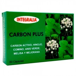 Carbon Plus · Integralia · 60 Capsulas