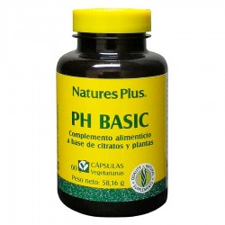 PH Basic · Nature's Plus · 60 Capsulas