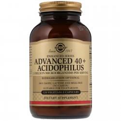 40+ Acidophilus Avanzado 120 Capsulas