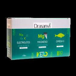 Pack Keto Electrolitos 60 capsulas + Magnesio