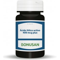 Acido Folico Activo 400 mcg Plus · Bonusan · 90 comp