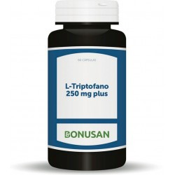 L-Triptofano 250 mg Plus · Bonusan · 60 caps