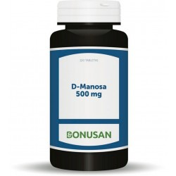 D-Manosa Extracto 500 mg · Bonusan · 120 Tabletas