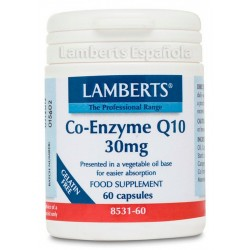 Co-Enzima Q10 30 mg · Lamberts · 60 caps