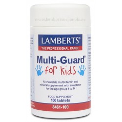 Multi-Guard for Kids · Lamberts · 100 comprimidos