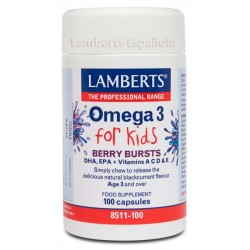 Omega 3 for Kids · Lamberts · 100 Caps