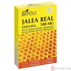 Bipole Jalea Real 500 mg · Dietéticos Intersa · 20 ampollas