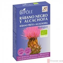 Bipole Rabano Negro y Alcachofa · Dietéticos Intersa · 20 ampollas