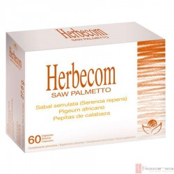 Herbecom Saw Palmetto · Bioserum · 60 capsulas
